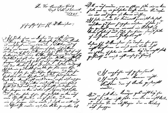 Письмо, адресованное командиру 4-го эскадрона 6-го полка