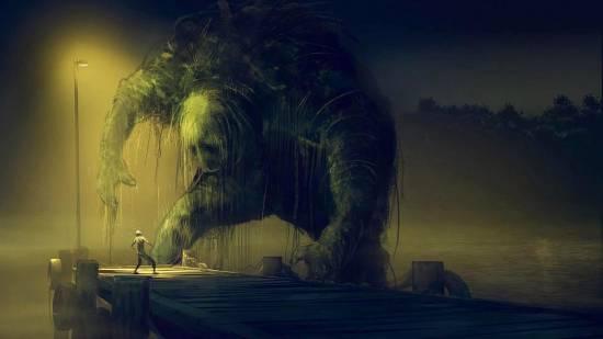 Чудовище на болоте