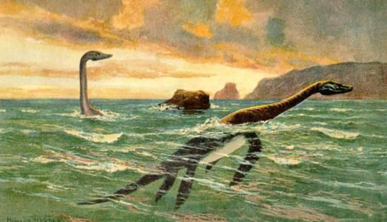 Так выглядели плезиозавры