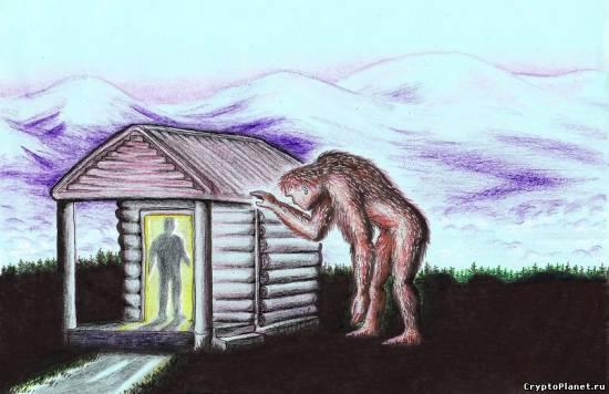 Рисунок очевидца