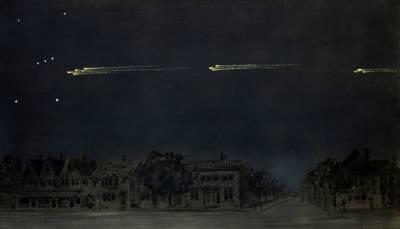 Метеорный поток 9 февраля 1913