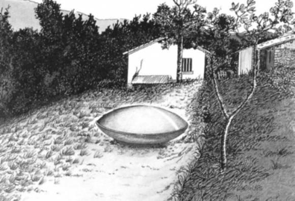 Реконструкция наблюдения в журнале Lumieres dans la Nuit