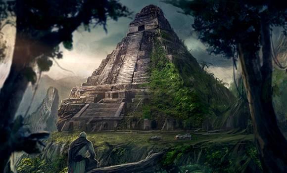 Руины городов майя