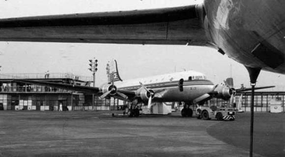 Аэропорт Ханэда, как он выглядел в 1954 году