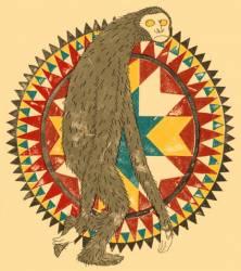 Мифический монстр эскимосов