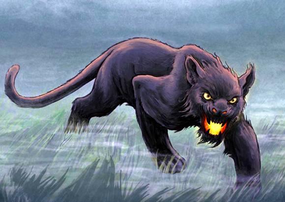 Рисунок бодминского зверя