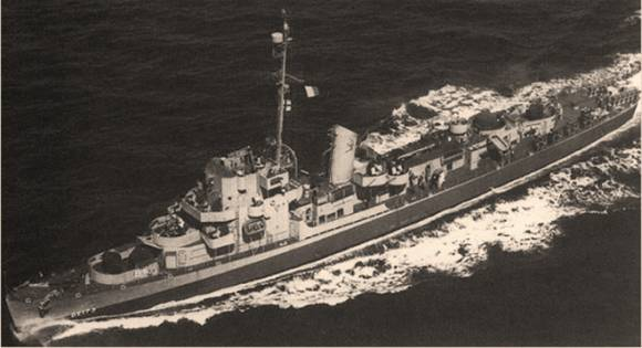 Эсминец ВМC США Элдридж